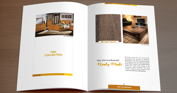 Furniture laminates catalogue design print kenboard