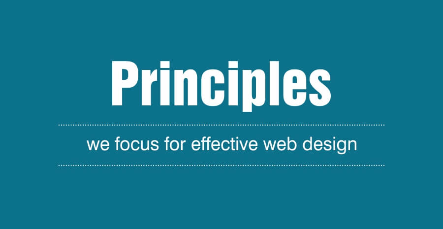 Principles of Effective Web Design – That Ingenious Brandcare Follows