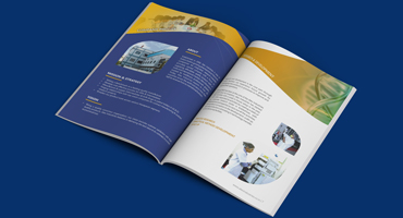 pharma healthcare brochure design