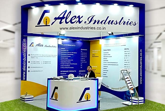 Exhibition Stall Installation : Exhibition stand stall design with installation in